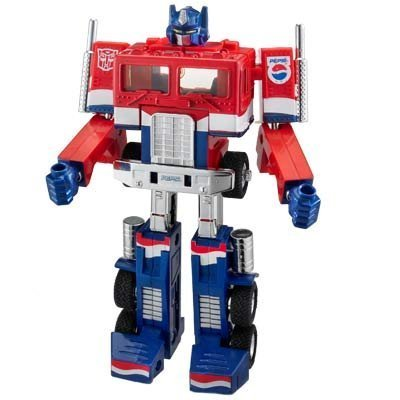 Transformers Optimus Prime PEPSI  G1 figure