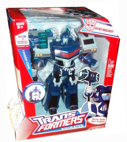 Transformers Animated Leader Ultra Magnus Action Figure G1
