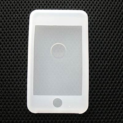 Frosted White Silicone Skin Case for the Apple iPod Touch/iTouch