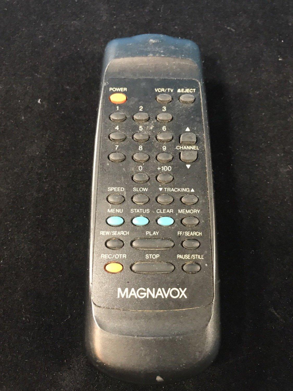 Magnavox VCR Remote Control UREMT34SR007 VRT262 VRT262AT