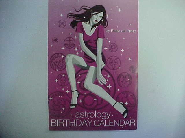 Astrology Birthday Calendar - Petra du Preez