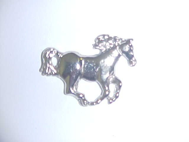 Brooch - Running horse