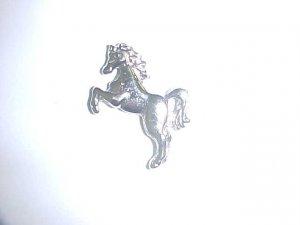 Brooch - rearing horse