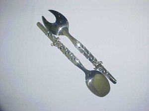 Salad knife and fork