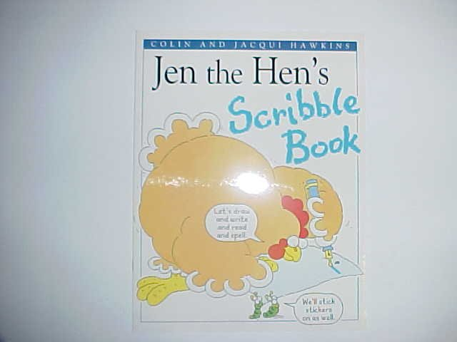 Jen the Hen's Scribble book - Colin and Jacqui Hawkins