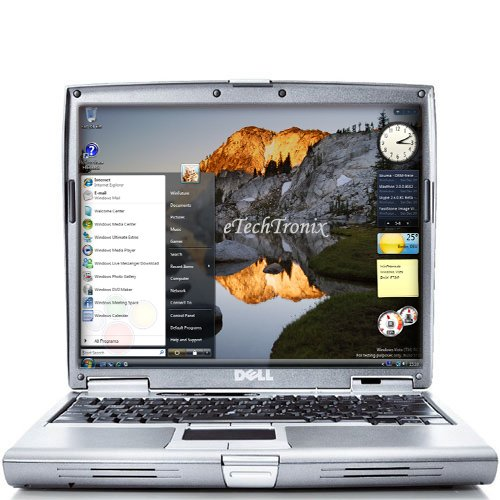 DELL LAPTOP NOTEBOOK D600 1.4 512MB 30GB DVD ROM WiFi