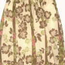 WOMEN'S IVORY PRINTED FITTED WAIST SKIRT SIZE 20W