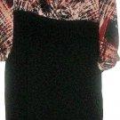 WOMEN'S BLACK/PRINTED DRESS SIZE 8