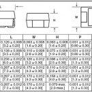 KEMET T491A105K016AS 1uF 16V A CASE 10% Tantalum Cap SMD Qty-100
