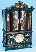 French Style Musical Jewelry Box