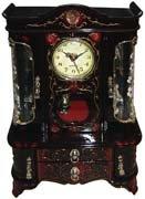 Elegant Rococo Style Jewelry Box