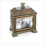 Palm Tree Frame Jewelry Box