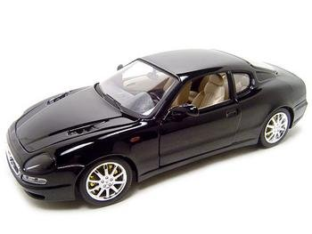 MASERATI 3200 GT COUPE BLACK 1:18 DIECAST MODEL