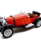 1928 MERCEDES BENZ SSK RED 1:18 DIECAST MODEL