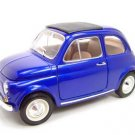 1965 FIAT 500L HT BLUE 1:18 DIECAST MODEL