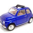 1968 FIAT 500L BLUE 1:18 DIECAST MODEL