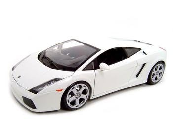 LAMBORGHINI GALLARDO WHITE 1:18 DIECAST MODEL