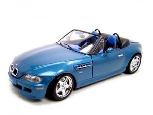 BMW Z3 M ROADSTER BLUE 1:18 DIECAST MODEL