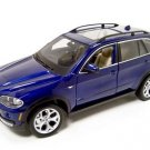 BMW X5 BLUE 4.8i 1:18 DIECAST MODEL 2006 2007 2008 BURAGO