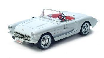 1957 CORVETTE LEATHER SERIES 1/18 DIECAST
