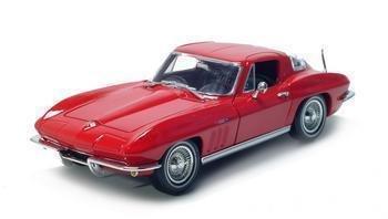 1965 CHEVROLET CORVETTE 1/18 DIECAST MODEL RED