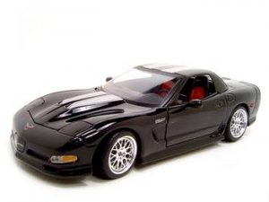 SPECTER WERKES CORVETTE Z06 BLACK 1:18 DIECAST MODEL