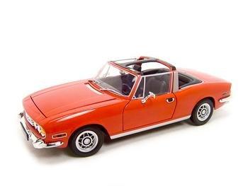 Triumph Stag Red 1:18 Diecast Model