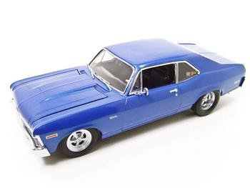 1972 CHEVROLET NOVA JOY RIDE BLUE 1:18 GMP DIECAST MODEL 1of 996