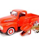 1952 FORD PICKUP RED W/ACCESSORIES 1:24 DIECAST MODEL