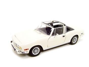Triumph Stag White 1:18 Diecast Model