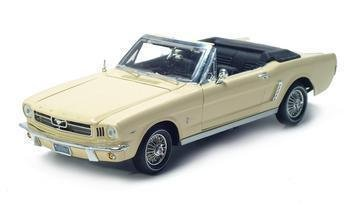 1964 1/2 FORD MUSTANG 1 OF 3094 MADE 1/18 DIECAST MODEL