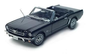 1964 1/2 FORD MUSTANG 1/18 DIECAST MODEL BLACK