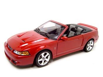 2003 FORD MUSTANG SVT COBRA 1:18 DIECAST MODEL