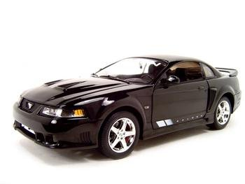 2004 SALEEN S281 BLACK 1:18 SCALE DIECAST MODEL ERTL