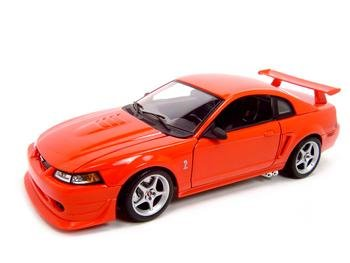 2000 FORD SVT MUSTANG COBRA R RED 1:18 DIECAST MODEL