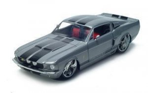 1967 SHELBY GT500KR 1/18 DIECAST MODEL GREY