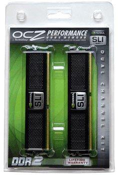 OCZ 4GB DDR2 4 GB (2 x 2GB) 800 PC2-6400 800MHz SLI Desktop Memory Kit
