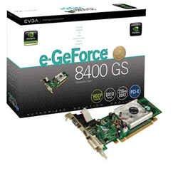 eVGA NVIDIA Geforce 8400GS 8400 GS 256MB PCI-e Vedio Card -- Free Shipping
