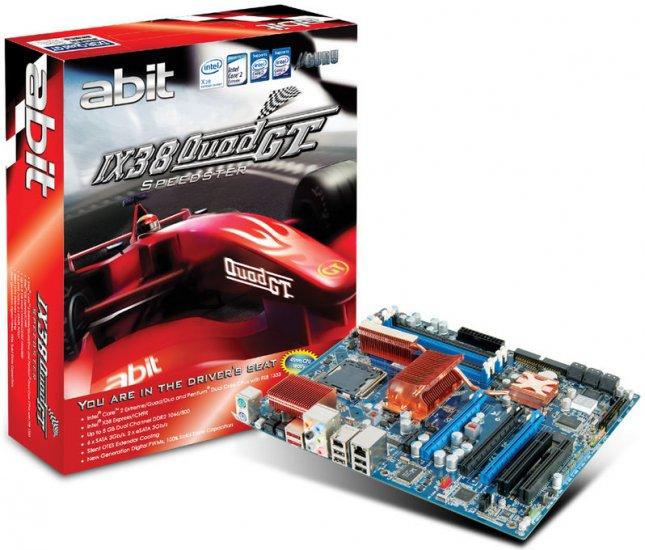 ABIT IX38 Quad GT LGA 775 MoBo Intel X38 ATX Intel Motherboard