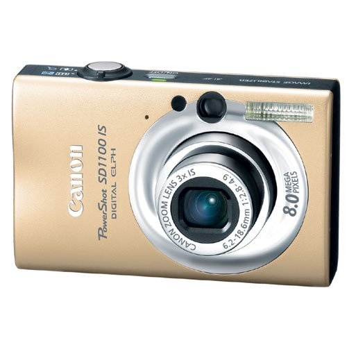Canon PowerShot SD1100 IS Digital ELPH 8MP 3x Optical w/ Free 2GB SD Card