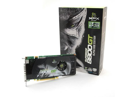 XFX NVIDIA GeForce 8800GT (G92) OC 8800 GT 512MB 640MHz Video Card w/ Free Game