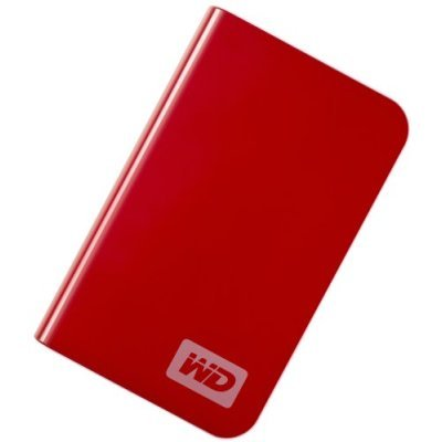 Western Digital Passport Essential 250GB WD Real Red Portable 2.5 External Hard Drive