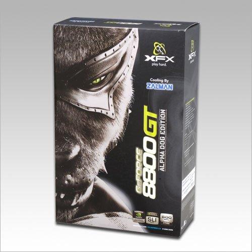 XFX NVIDIA GeForce 8800GT (G92) ZALMAN Ed 8800 GT 512MB  Video Card