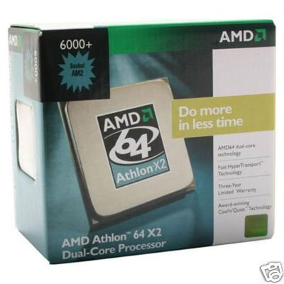AMD Athlon 64 X2 6000+ 3.0GHz Socket AM2 Dual Core Processor CPU