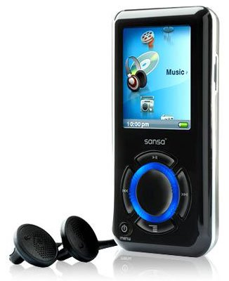 Sandisk Sansa e250 2GB MP3 Media Player Brand New