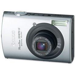 "Canon PowerShot SD870 IS Digital ELPH 8MP 3.8x 3.0"" LCD w/ Free 2GB SD"