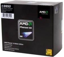 AMD Phenom x4 9950 Black Ed 2.6GHz Socket AM2+ Quad-Core Processor CPU