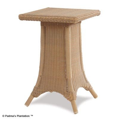 PADMA'S PLANTATION- OUTDOOR RESORT END TABLE-HONEY FINISH