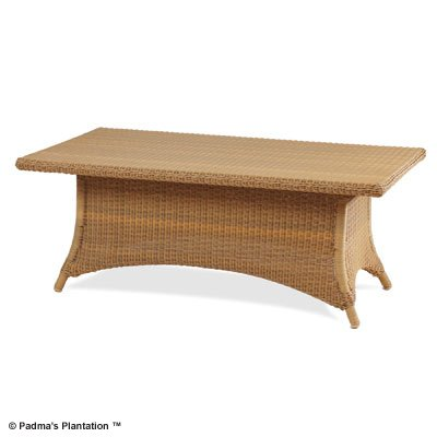 PADMA'S PLANTATION- OUTDOOR RESORT COFFEE TABLE-HONEY OR CAFE FINISH