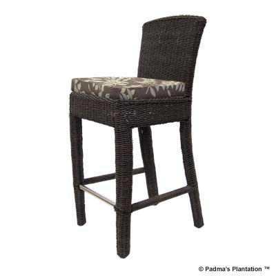 PADMA'S PLANTATION- OUTDOOR BAY HARBOR SIDE BARSTOOL
